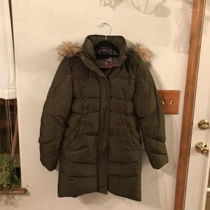 Steve Madden winter puffer jacket, S